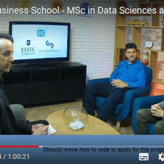 Msc in Datascience and Business Analytics : revoir la LIVE session d'informations
