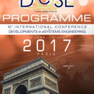 10ème édition de l'IEEE International Conference on Developments in eSystems Engineering (DeSE 2017)